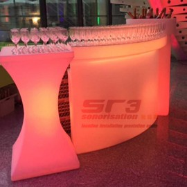 bar a led sur batterie