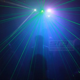 Twinbeam color laser