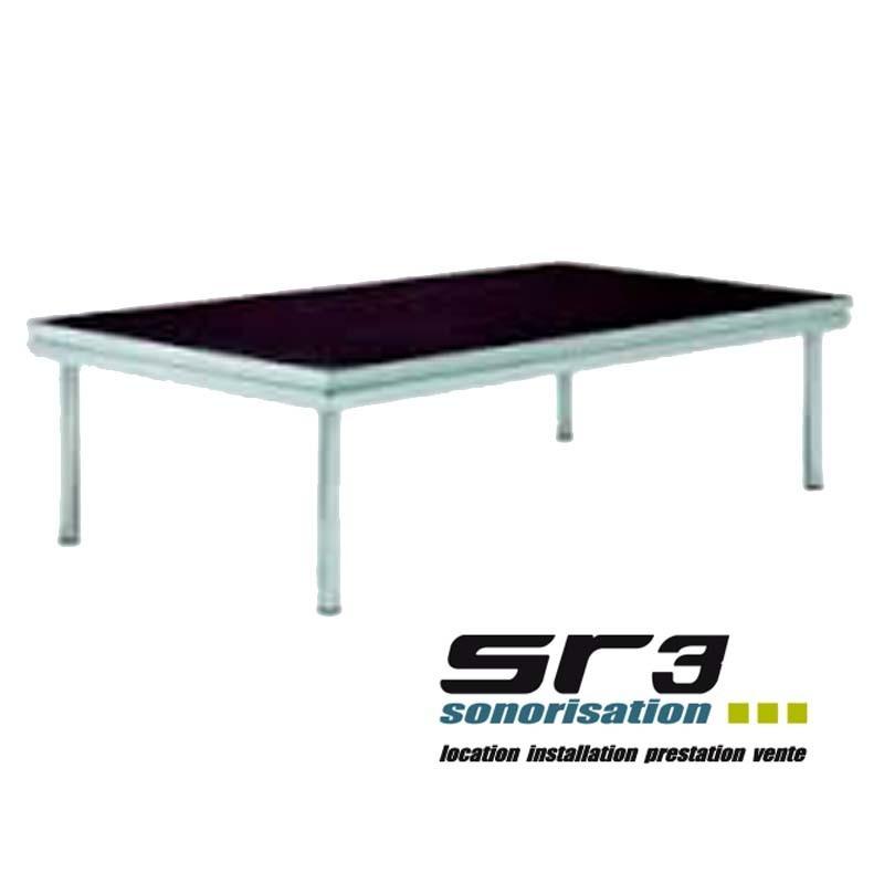Praticable podium sc ne briteq 2m x 1m sr3 sonorisation for Miroir 2m sur 1m